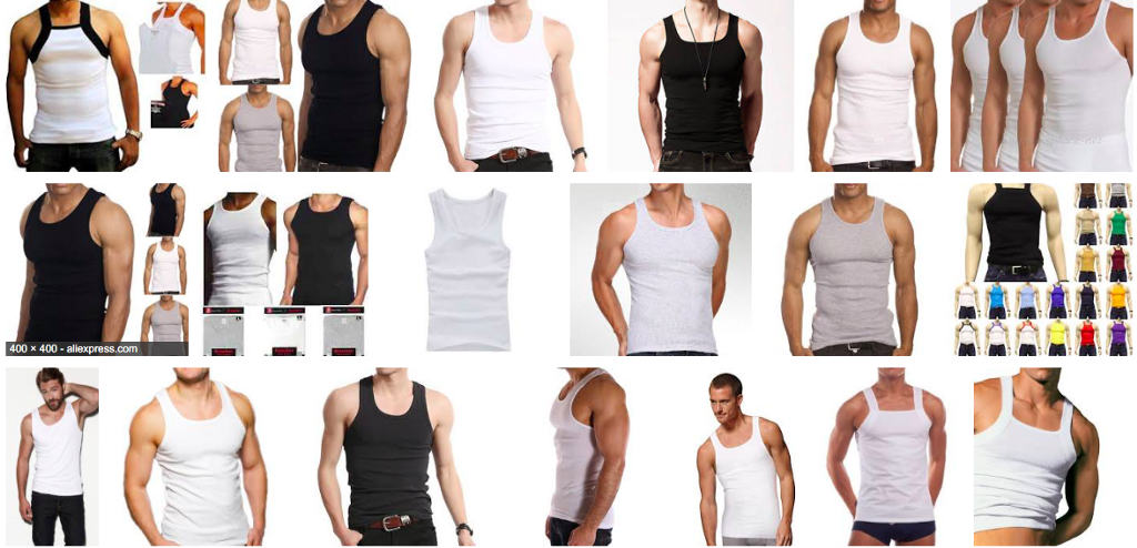 "c7e3ccdc8e64b1 The ""wife beater"" is among the most iconic staples of the American male s  wardrobe — the very thing that made Marlon Brando a star."