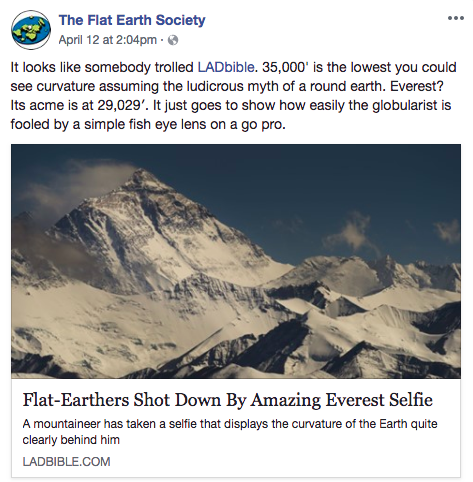 OK, Flat Earthers, You Win: The Earth Is Flat  Now What