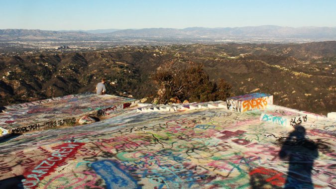 Topanga Lookout Trail. Photography by DanielVentura.