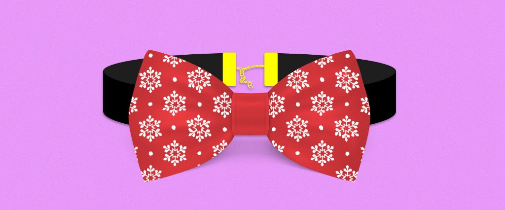 The Snowflake Diaries Bow Ties Are Chokers For Men Mel Magazine
