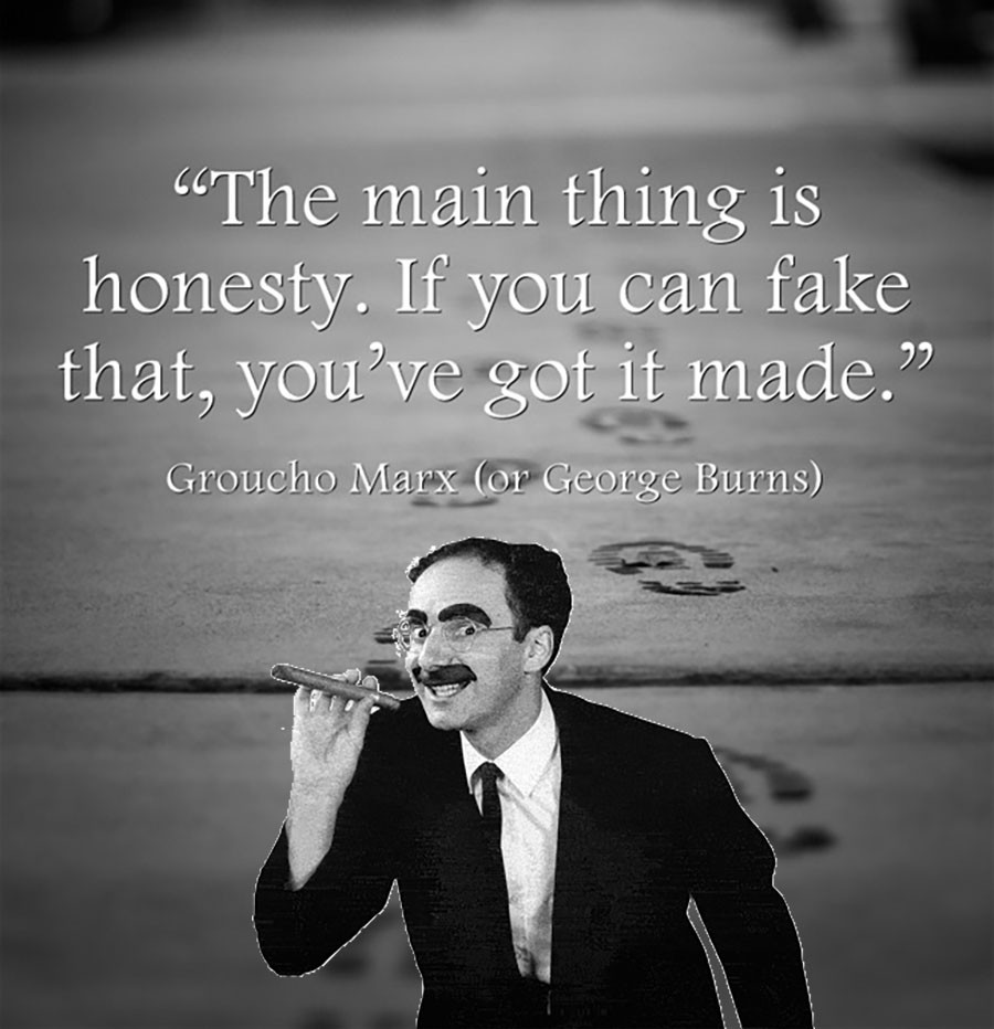 A Quote From A Famous Person: Misattributed Quote Meme