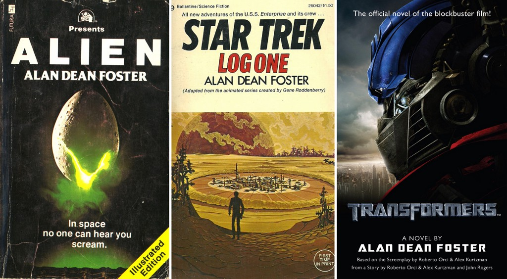 Book covers courtesy of Warner & SFB, Ballantine, DelRey