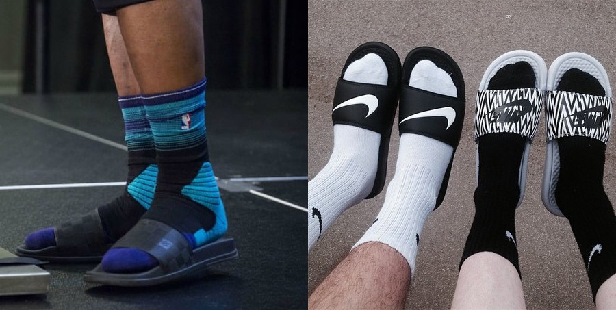 4ee29ea458be Why Are We Wearing Sandals With Socks  - MEL Magazine