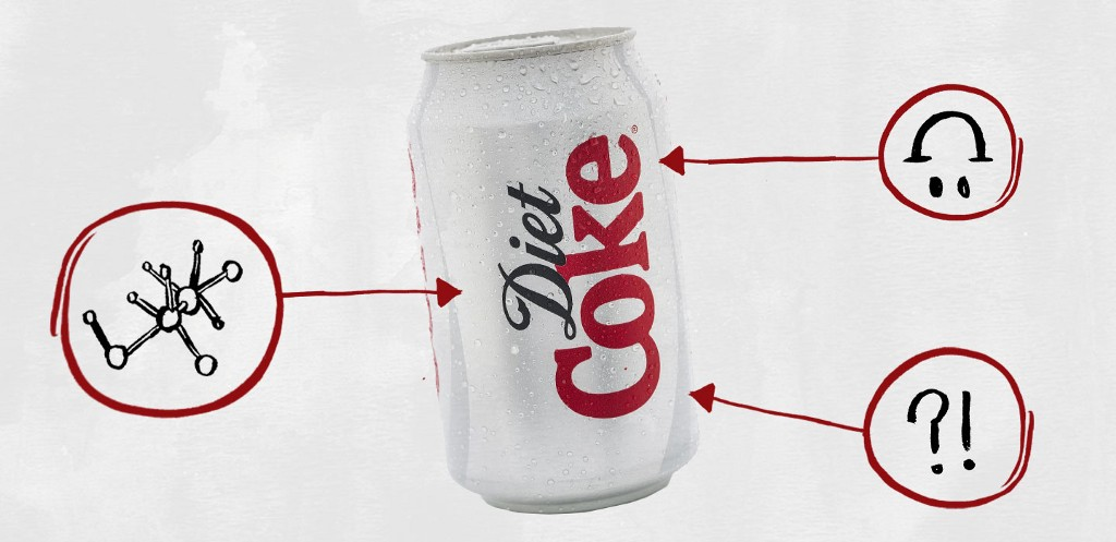 what color is diet coke