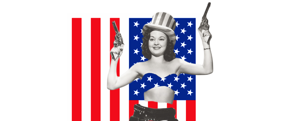 05e30fe499c5d The Titillating Origins of the American Flag Bikini | MEL Magazine