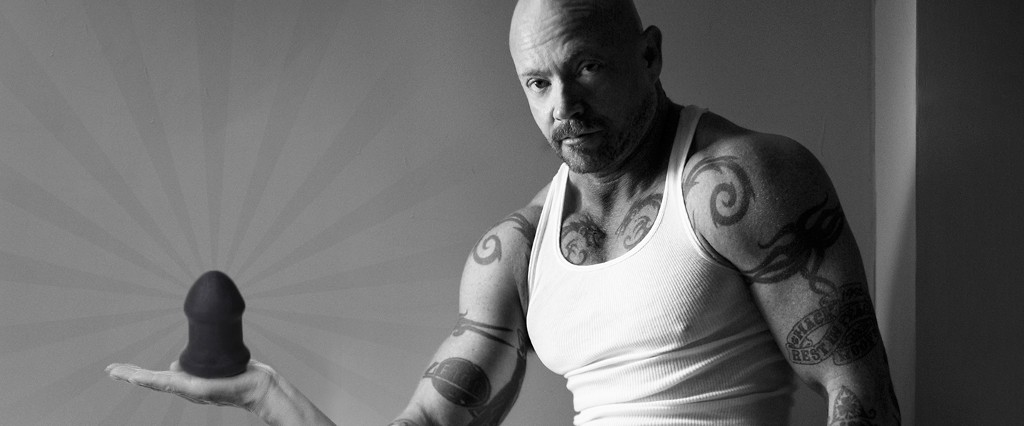 Buck Angel with the Buck-off