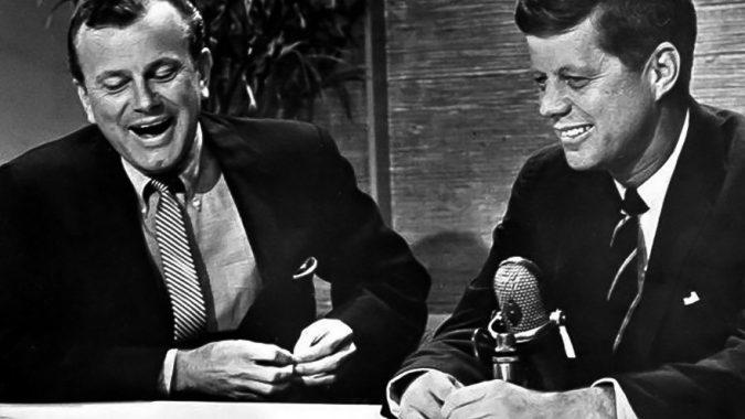 JFK with Jack Paar on the Tonight Show, January 1,1962