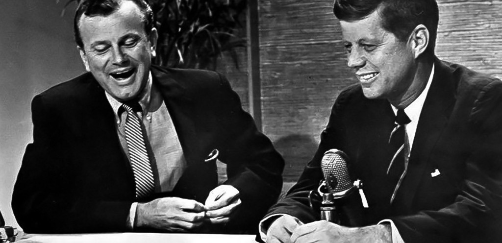 JFK with Jack Paar on the Tonight Show, January 1, 1962