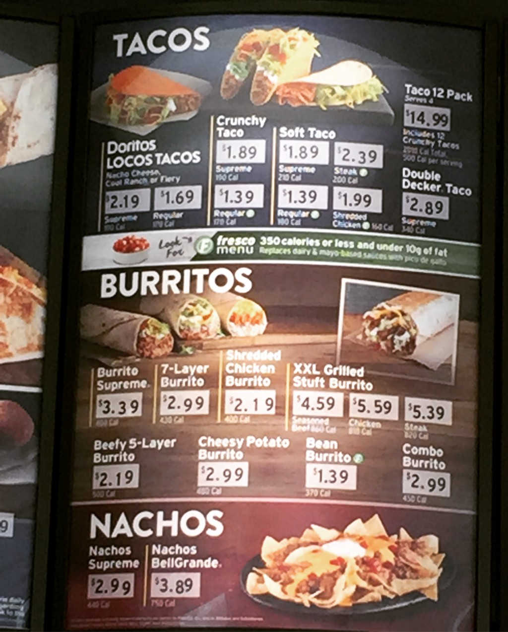 here's what taco bell's low-key healthy revolution tastes like - mel
