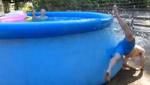"""POOL JUMP EPIC FAIL,"" Jukin's most popular video. Screenshot via Youtube"