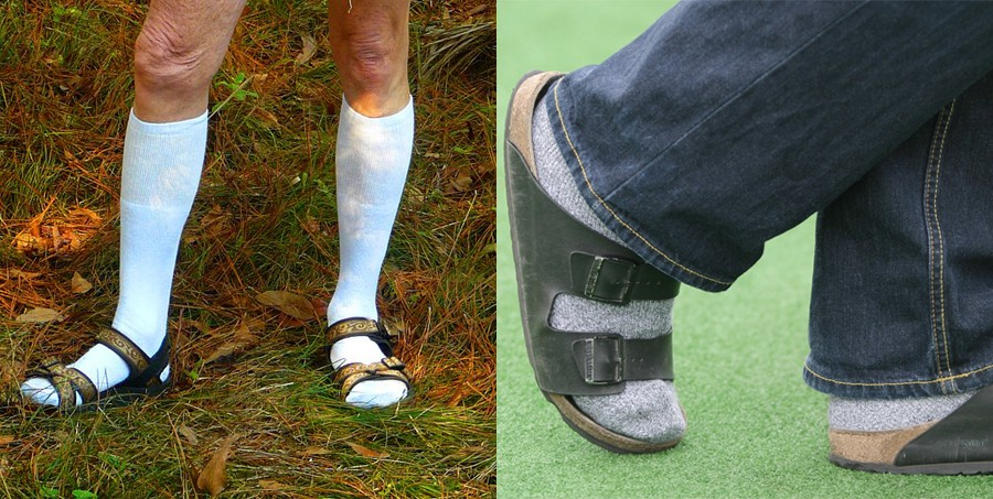 ce156a92bea3 Why Are We Wearing Sandals With Socks  - MEL Magazine