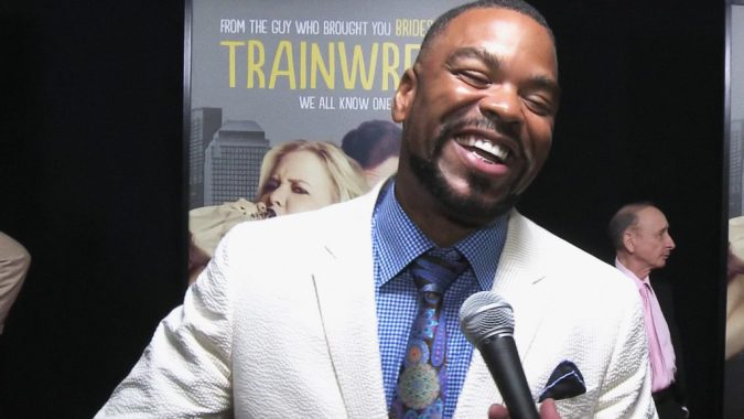 Method Man at the premier of 'Trainwreck.' Image via YouTube.