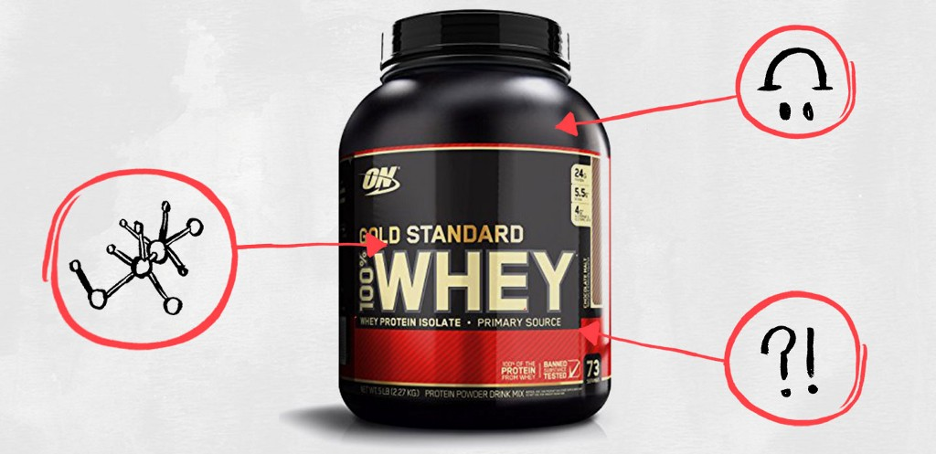 87d574d9f What s in This   Optimum Nutrition Gold Standard 100% Whey Powder ...