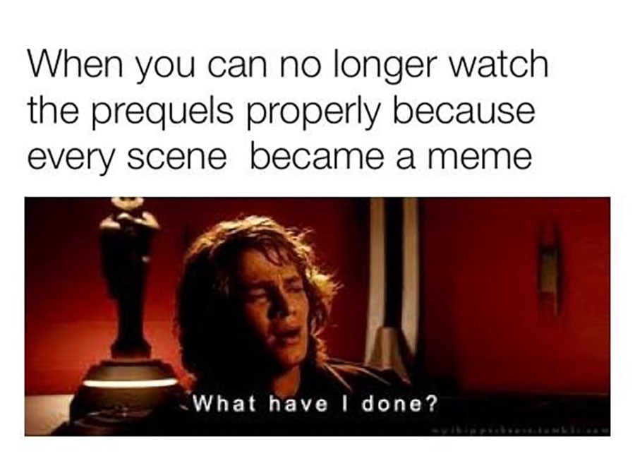 Image result for memes about prequels