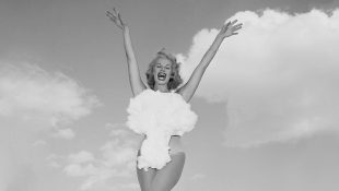 Miss Atomic Bomb. Photo by Don English/Las Vegas News Bureau
