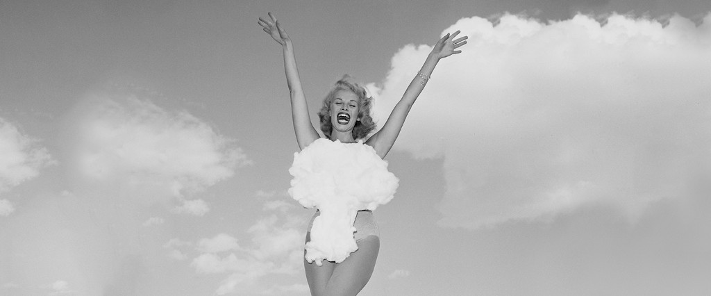 Miss Atomic Bomb. Photo by Don English/Las Vegas NewsBureau