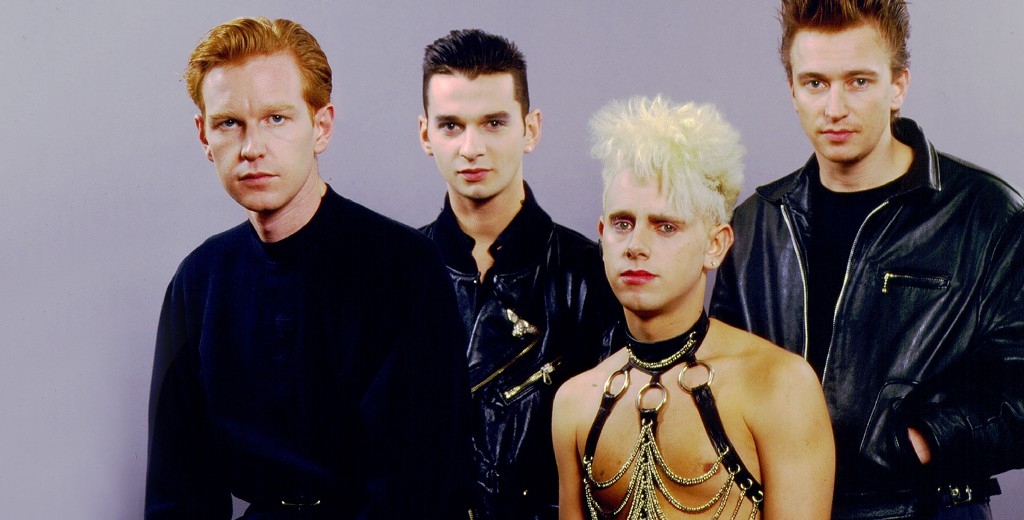 Depeche Mode. Photo by Paul Natkin
