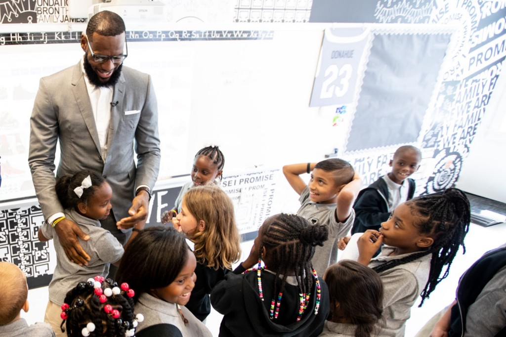 How to Build a School With LeBron James
