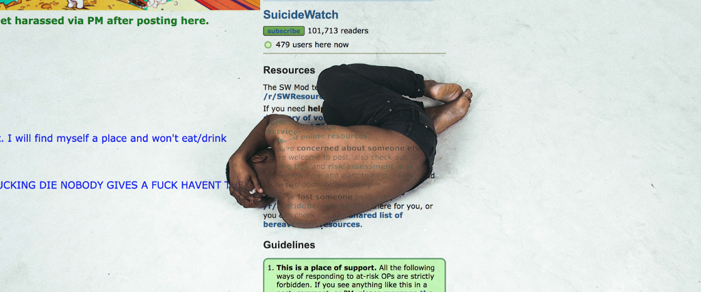 For Suicidal Men, This Subreddit Can Be the Difference Between Life