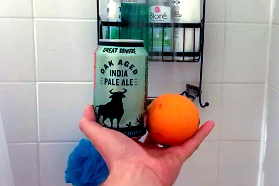 Why the Viral 'Shower Orange' Tastes So Good | MEL Magazine
