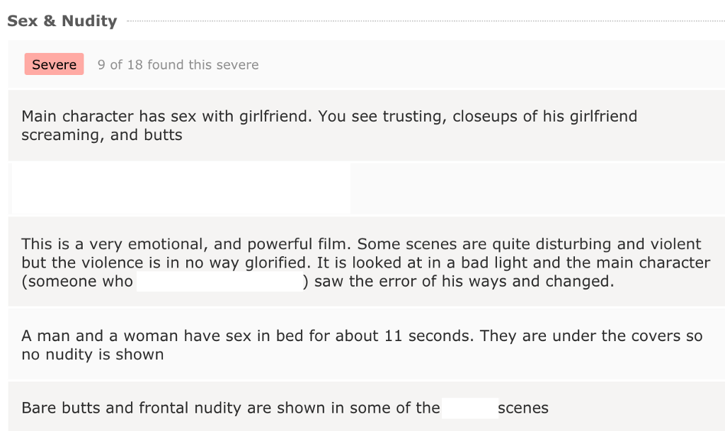 imdb parents guide blowjob behind desk
