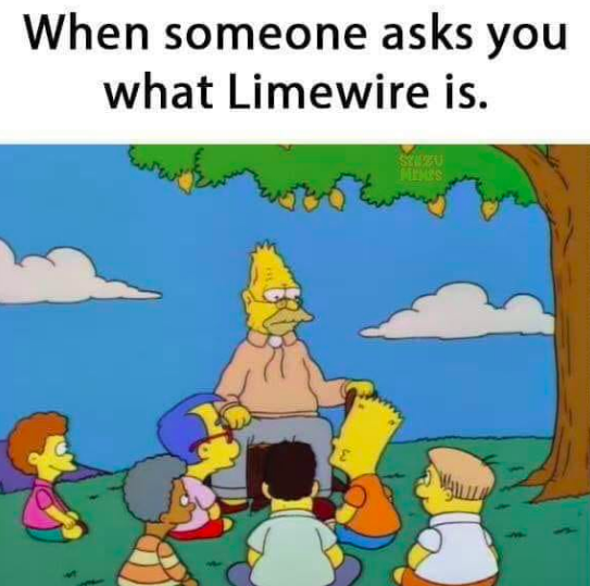 Why Millennials Miss LimeWire Enough to Resurrect It as a Meme | MEL
