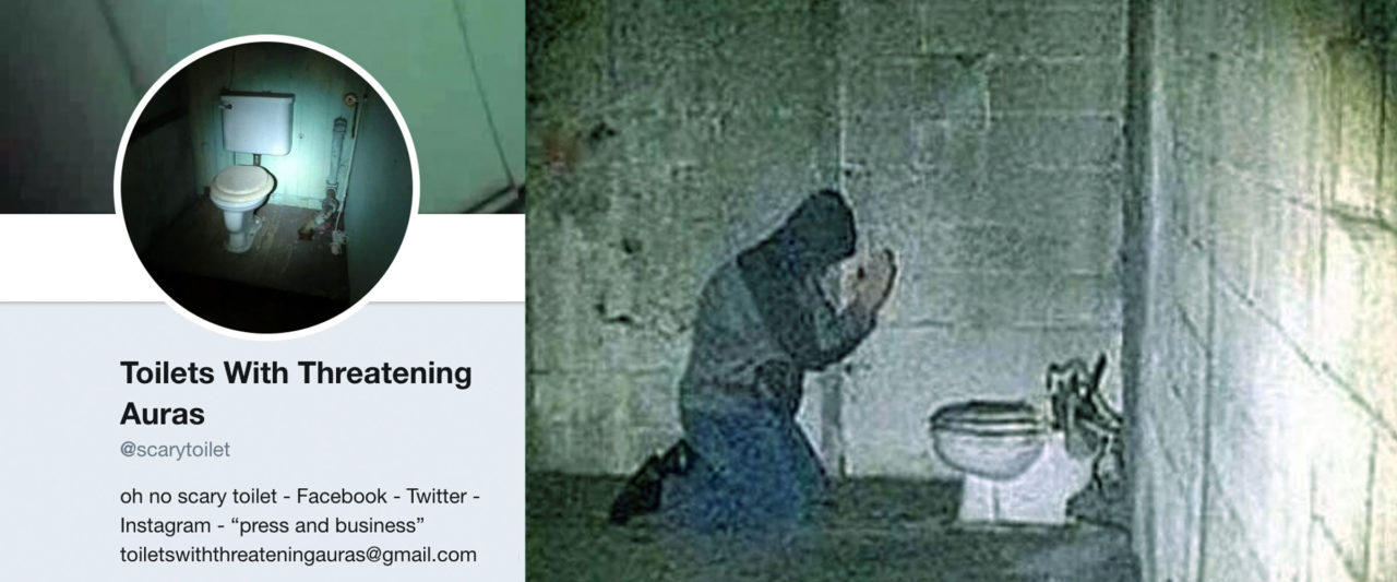 Weird Cursed Toilets With Menacing Auras 10