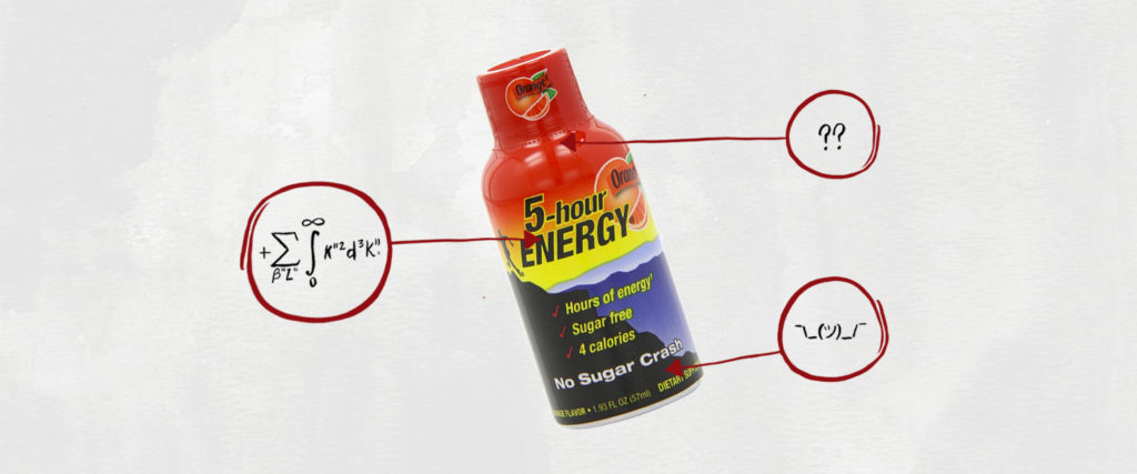 What's in This?: 5-Hour Energy Shots