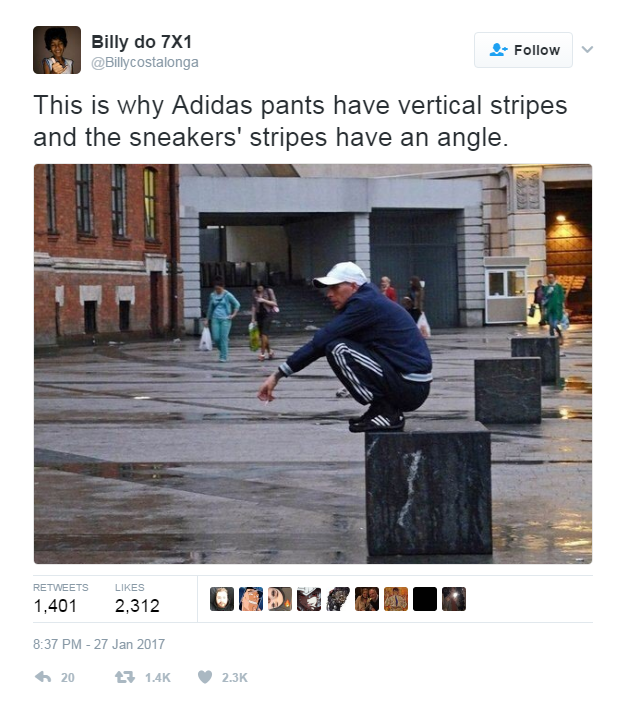 adidas tracksuit meme