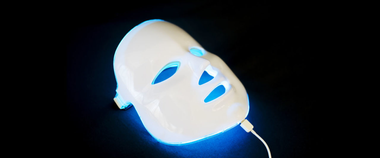 masque anti acne led