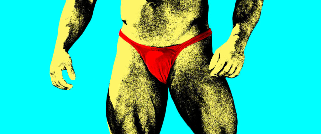 How a Tiny, Red Male Thong Changed Pro Bodybuilding Forever