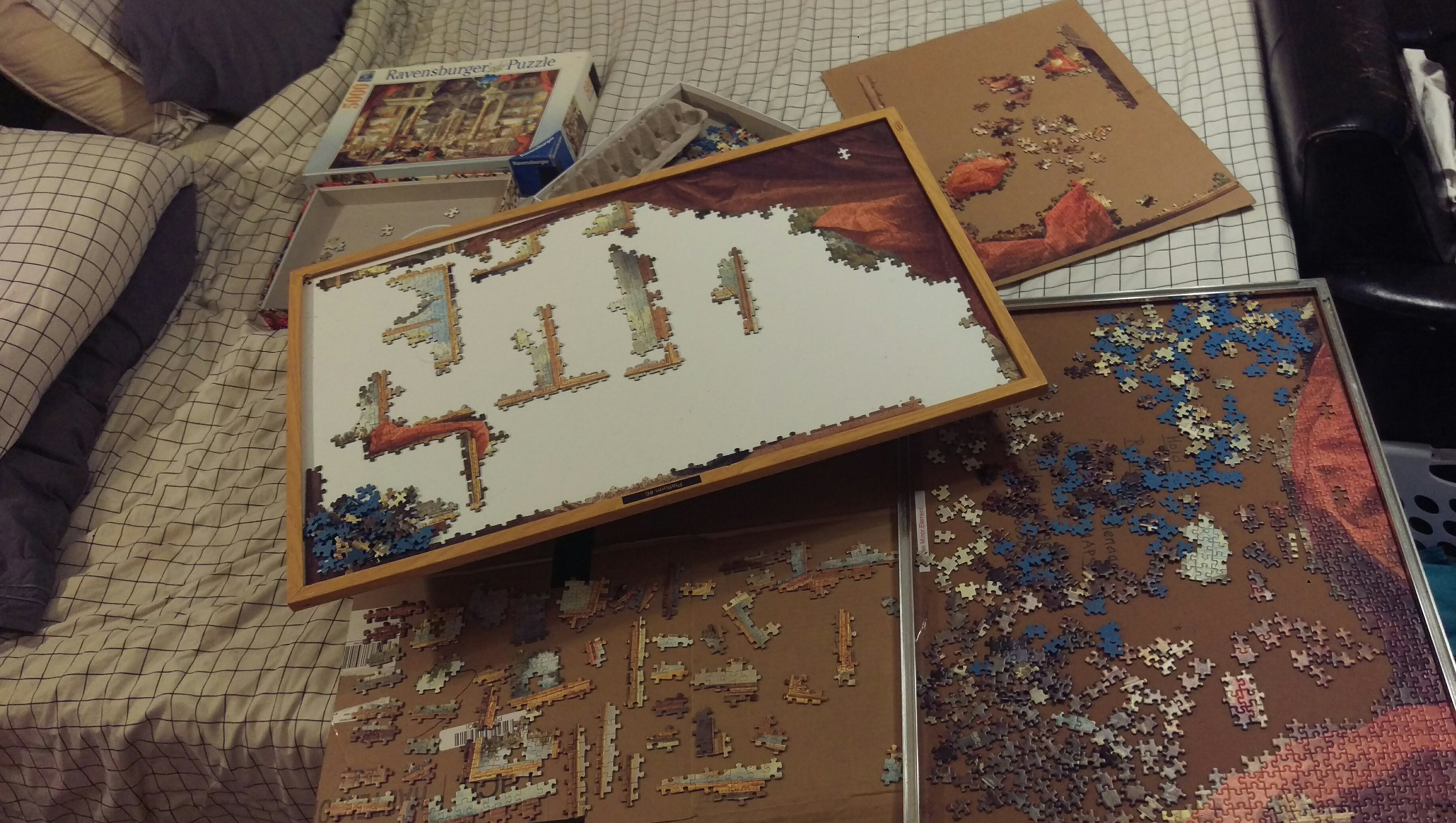For Guys With Anxiety, Stress and PTSD, Jigsaw Puzzles Are