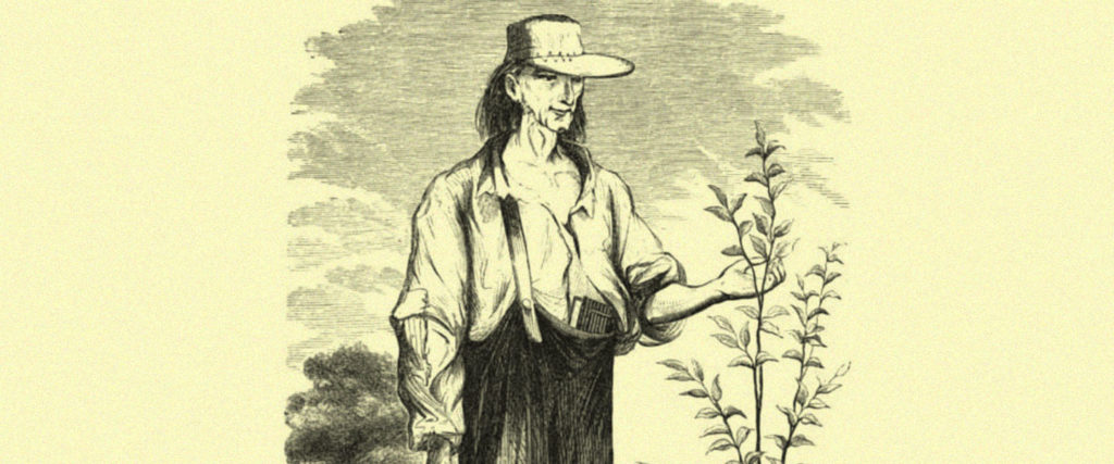 Johnny Appleseed Wasn't Planting Apples to Eat, Bro