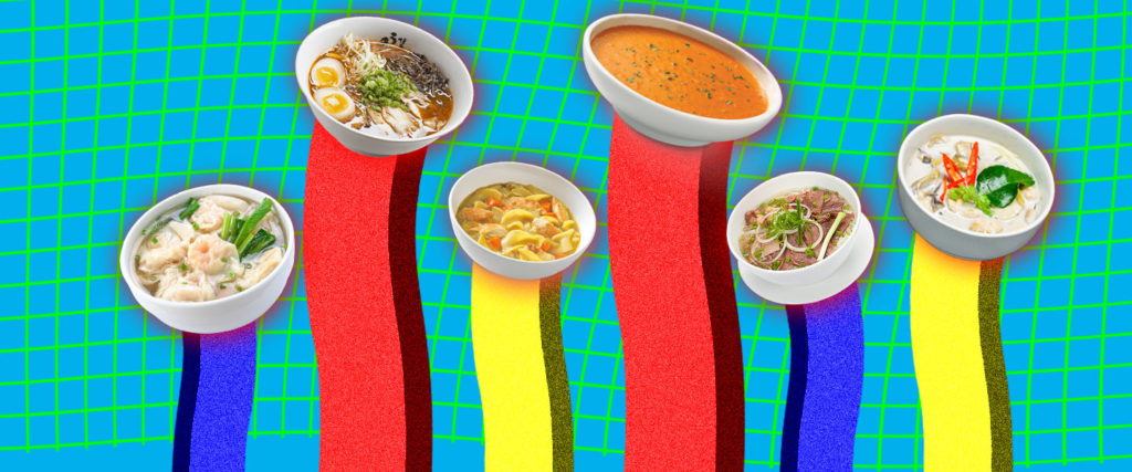 Ranking the Most Popular Soups by How Healthy They Are