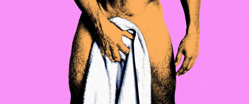 All the Bizarre Ways Men Use Bath Towels