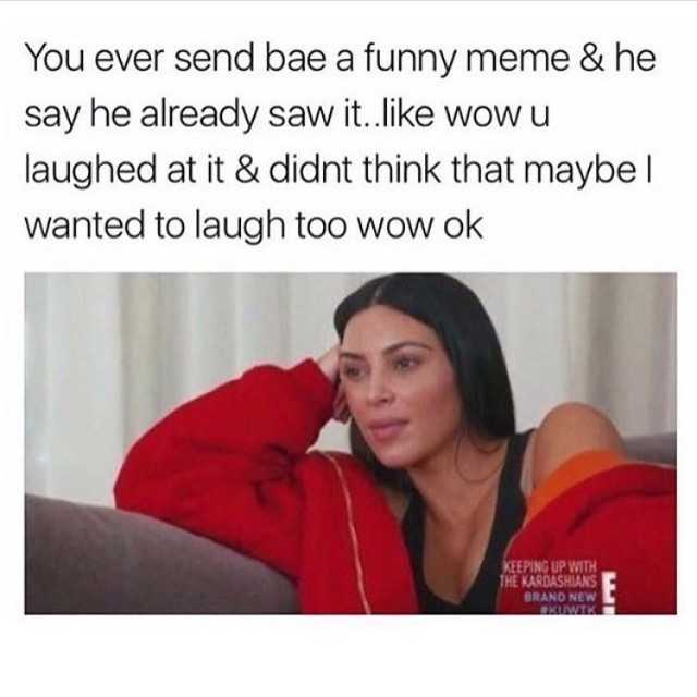 Your Partner Is Probably Lying to You About All the Memes