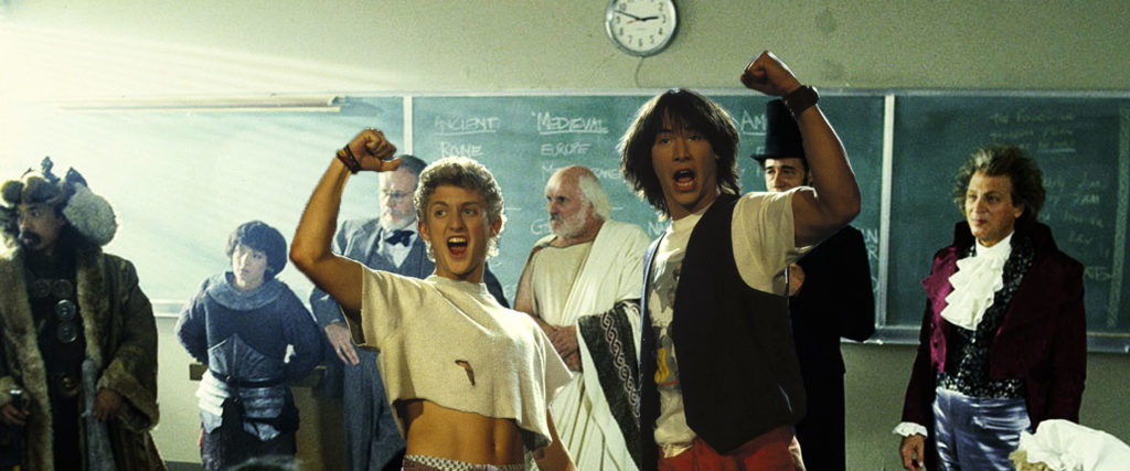 History Teachers Are Bringing 'Bill & Ted' Into the Classroom