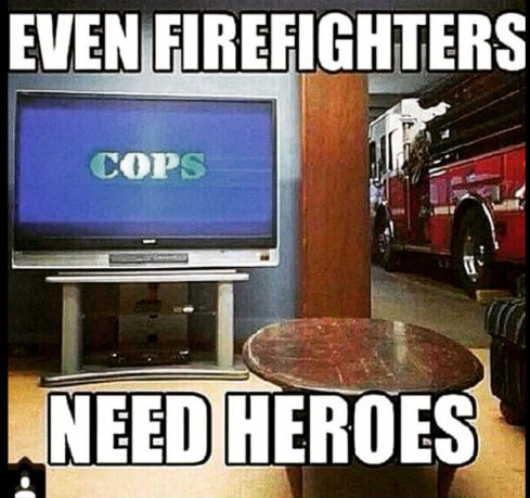 The Forever War Between Cops And Firefighters