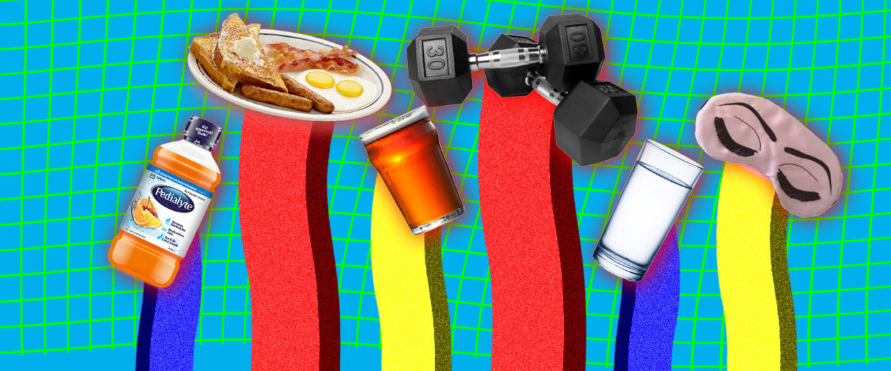 Ranking Hangover Remedies by How Effective They Are at