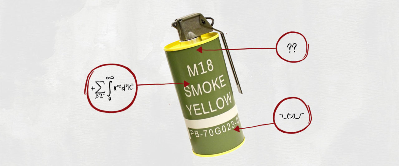 What's in This?: Smoke Grenades | MEL Magazine