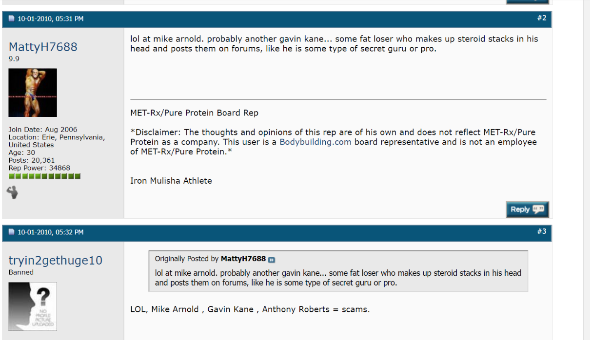 The Unheard History of Bodybuilding Forums, as Told by the Trolls