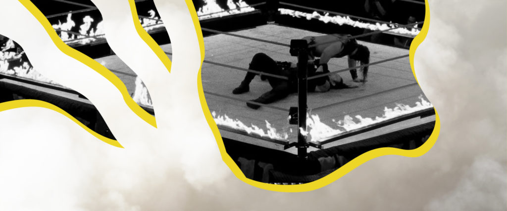 The Flaming Table Is Wrestling's Greatest Stunt and Most Poignant Metaphor