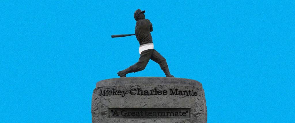 I Won Mickey Mantle's Underwear in an Underground Auction