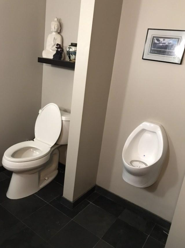 The Men With Urinals in Their Homes