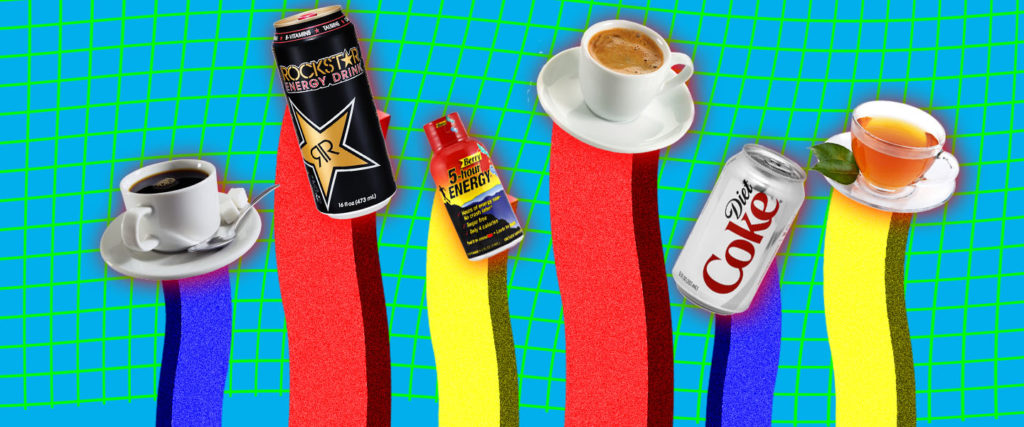 Ranking Caffeinated Beverages by How Effective They Are