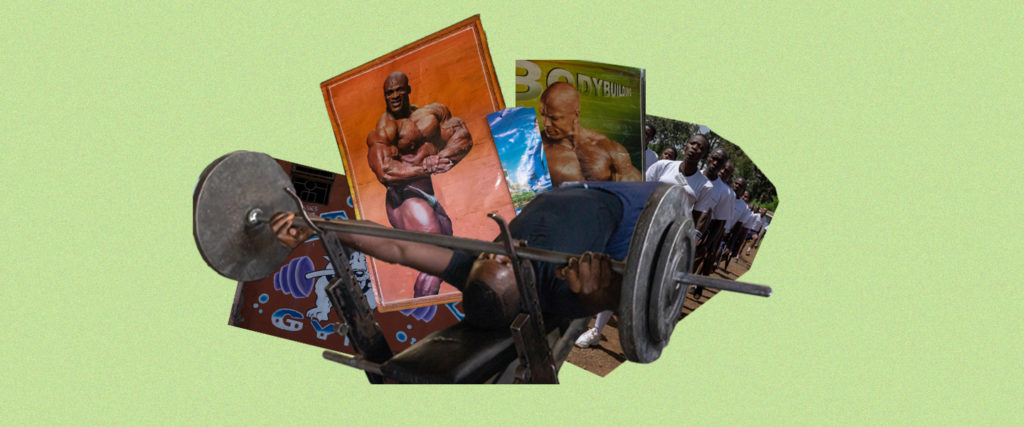 For Young Men in the Slums of Nairobi, Getting Buff Is One of the Few Paths Out of Poverty