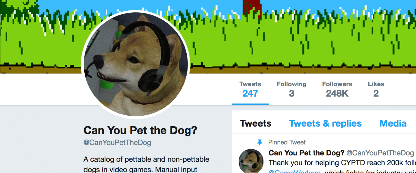 'Can You Pet the Dog?' Unites Gaming, Puppies and Labor Rights