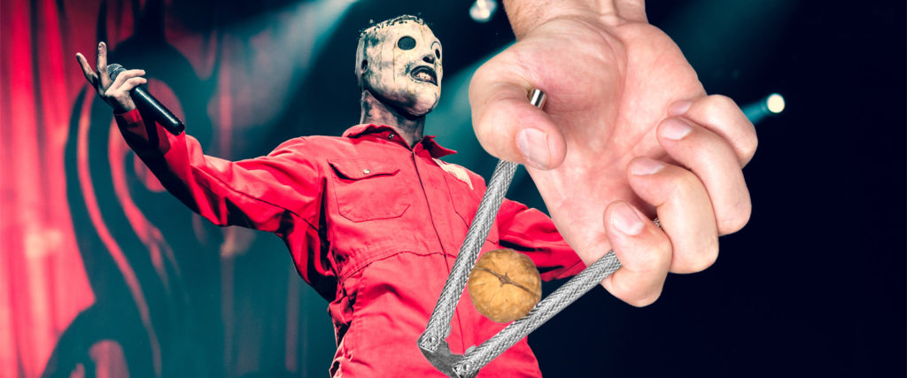 Did the Slipknot Frontman Really 'Blow Out' His Testicle From Singing?
