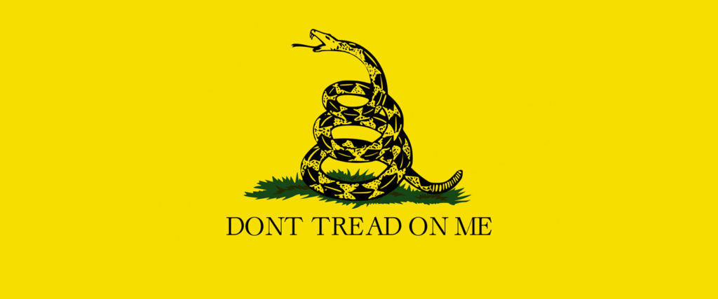 The 'Don't Tread on Me' Flag May Not Be Racist, But It Sure Is Dumb