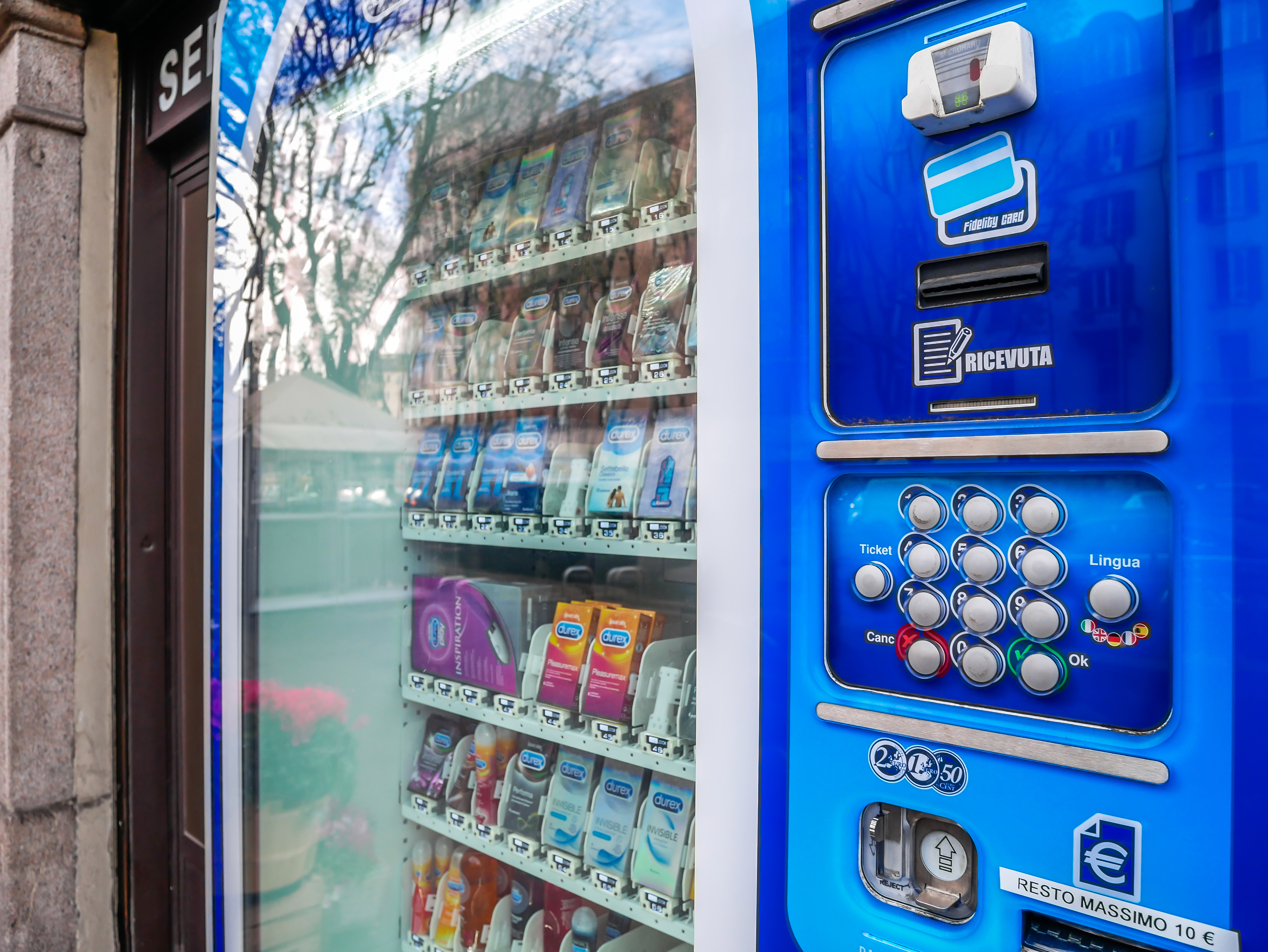 A Cheap, Safe, Non-Embarrassing History of Condom Vending